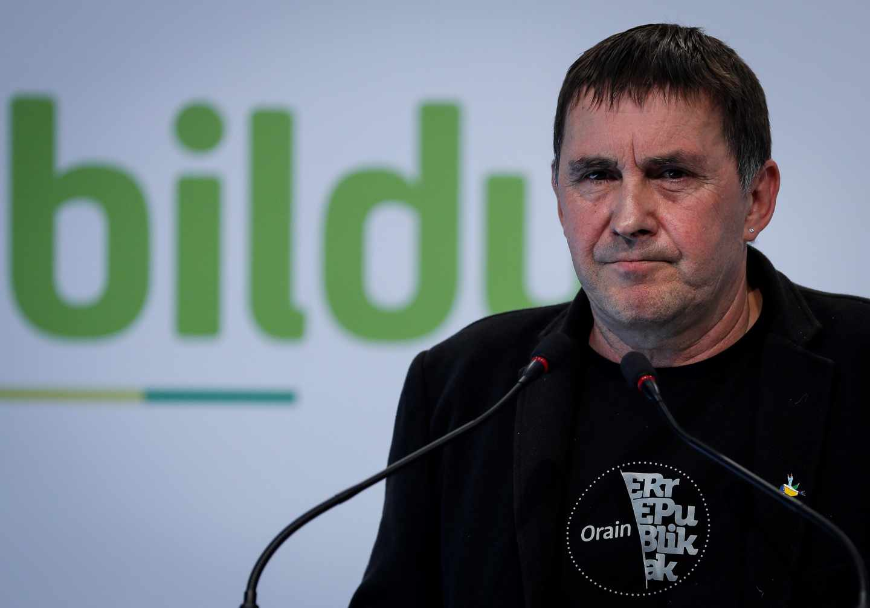 Arnaldo Otegi, líder de EH Bildu.