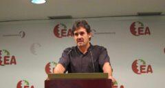 Pello Urizar, ex secretario general de Eusko Alkartasuna.