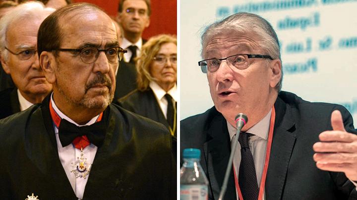 Javier Borrego y Luis María Díez-Picazo.