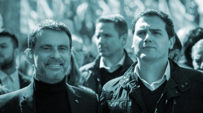 Manuel Valls y Albert Rivera.