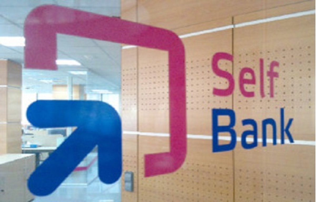 Logo de Self Bank.
