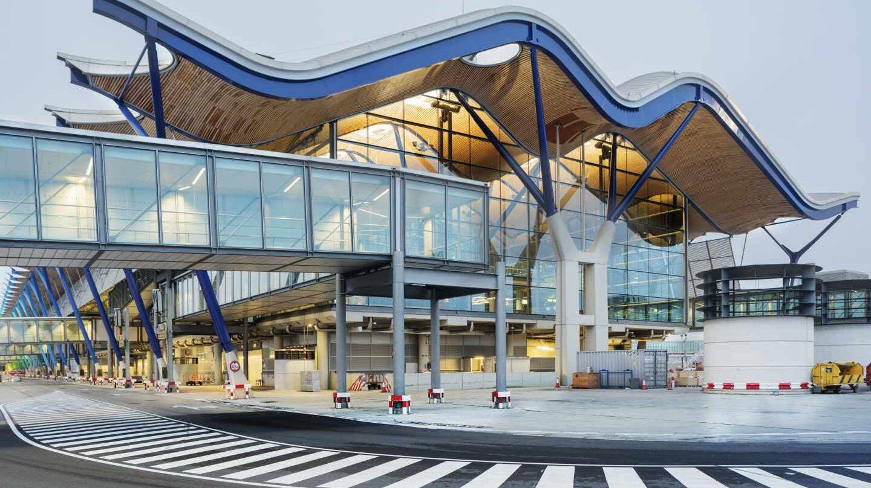 La Terminal 4 del aeropuerto de Madrid-Barajas.