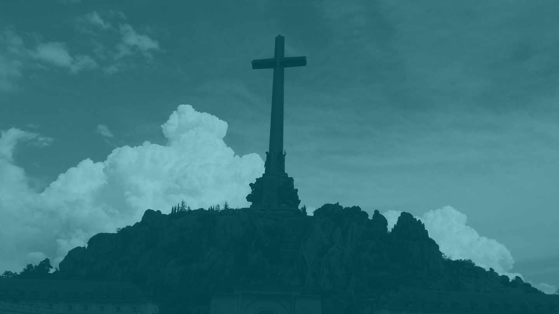 La cruz del Valle de los Caídos.