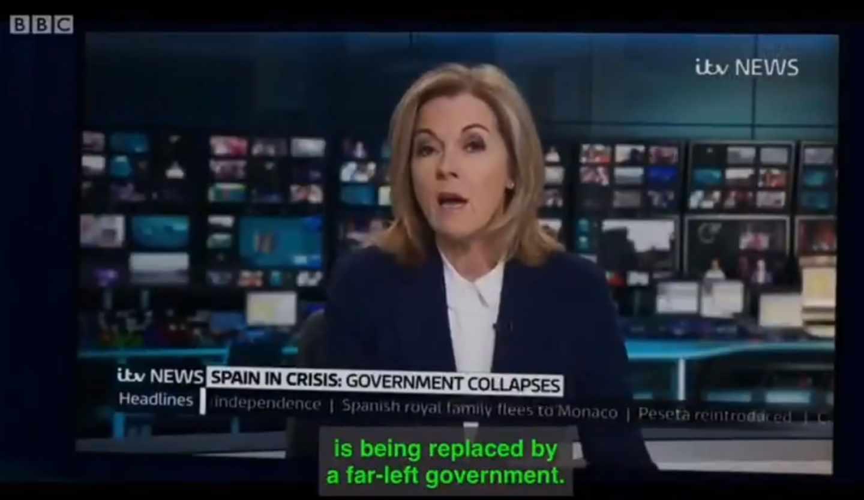 Captura del trailer del quinto capítulo de Years and Years, la serie de la BBC.