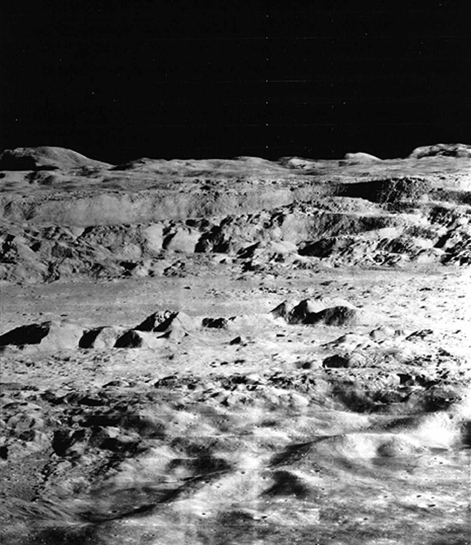 Imagen del cráter Copernicus, de 100 kilómetros de diámetro, tomada en 1966 | NASA/University of Colorado at Boulder