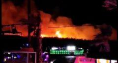 Incendio en un festival de 'hip-hop' de Croacia