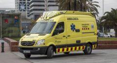 Ambulancia en Barcelona