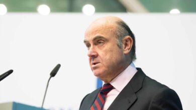 Guindos alerta del creciente riesgo de la 'banca en la sombra' y reclama más control