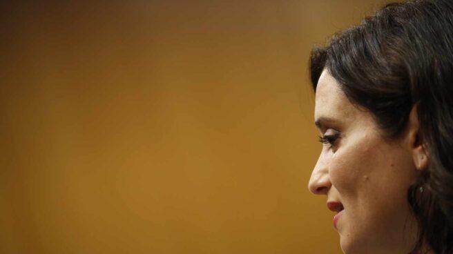 La candidata a la presidencia de la Comunidad de Madrid, Isabel Díaz Ayuso.
