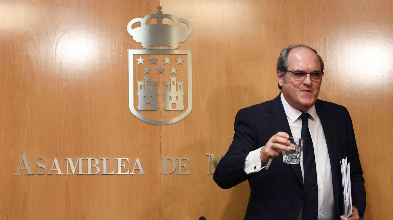 El candidato socialista a la investidura, Ángel Gabilondo