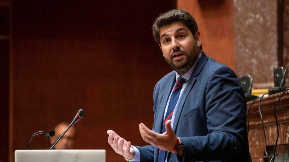 El candidato a la presidencia de la Comunidad de Murcia, Fernando López Miras