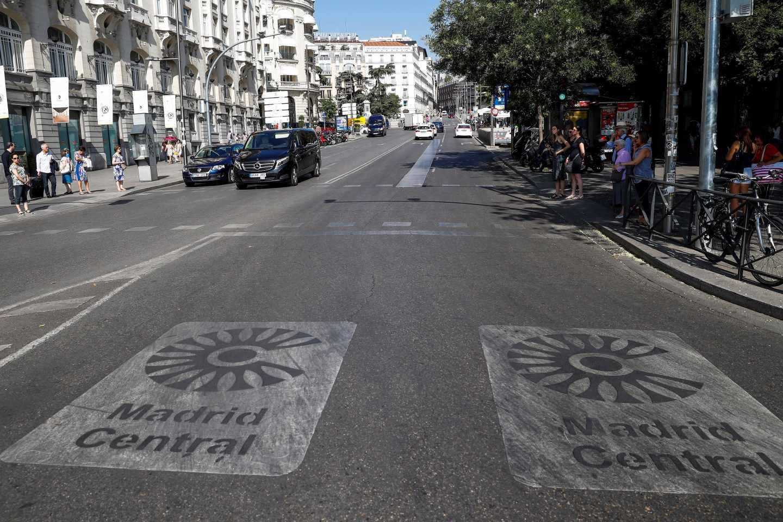 """La contaminación en Madrid, en mínimos de la década pese al """"efecto Almeida"""""""