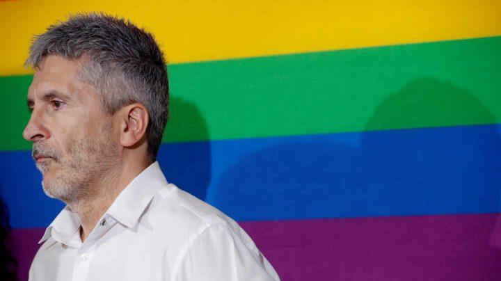 El ministro del Interior en funciones, Fernando Grande-Marlaska,