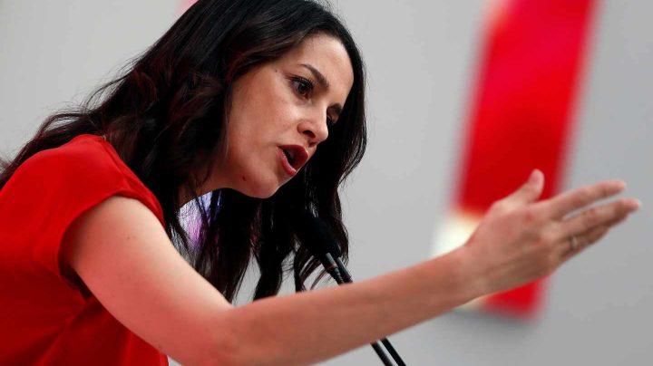 La portavoz nacional de Ciudadanos, Inés Arrimadas.