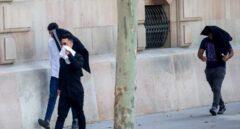 Tres de los siete acusados de la violación múltiple de una menor en Manresa.