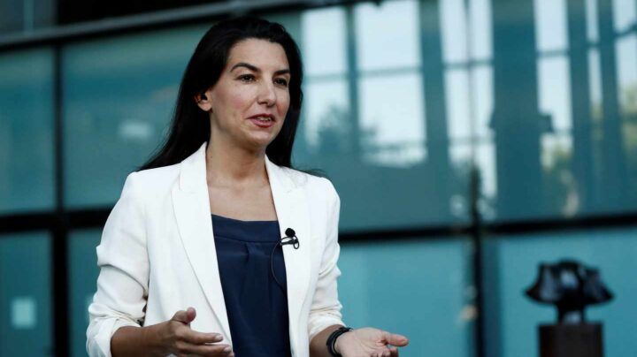 La candidata a la presidencia de la Comunidad de Madrid, Rocío Monasterio.