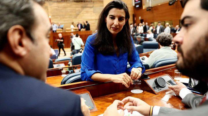 La candidata a la presidencia de la Comunidad de Madrid por Vox, Inés Arrimadas.