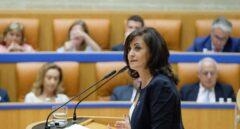 La candidata socialista a la Presidencia del Gobierno riojano, Concha Andreu.