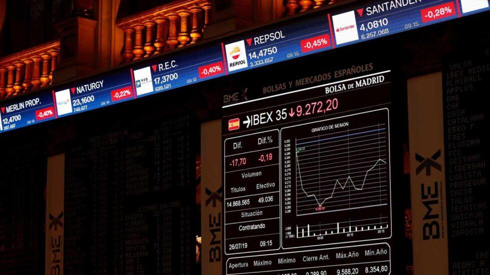 Los miedos se extienden por los mercados europeos y el Ibex sella su mayor revés del año.