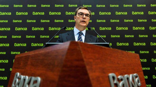 """Bankia sucumbe ante los tipos negativos: """"No vamos a alcanzar el objetivo de beneficio""""."""