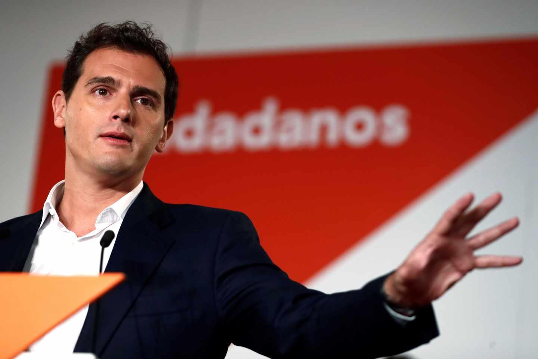Albert Rivera, presidente de Ciudadanos.