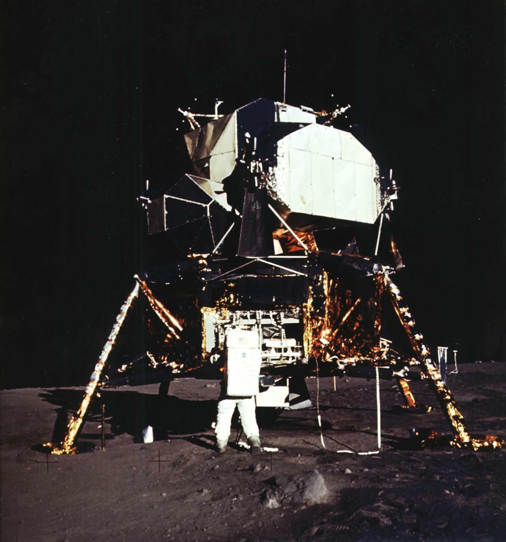 Aldrin y el módulo lunar | NASA