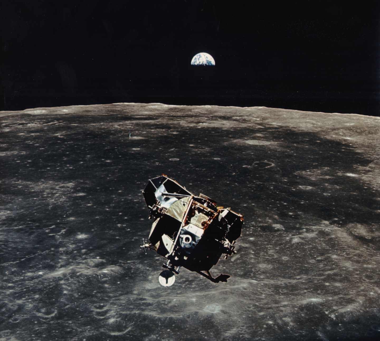 El módulo lunar de la misión Apolo 11 | NASA