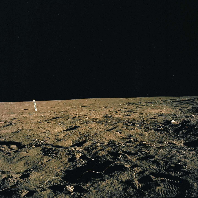Fotografía de la misión Apolo 12, que volvió a la Tierra con 34 kilos de muestras | NASA