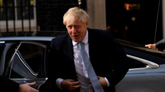 Boris Johnson, nuevo primer ministro, a su llegada al 10 de Downing Street.