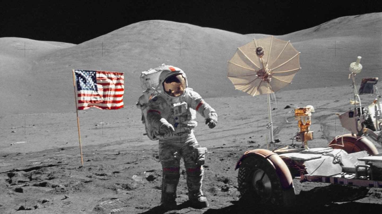 Cernan, el último hombre en pisar la luna en 1972 | Archivo de la NASA