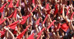 """Una concejala del PP denuncia a un edil de Bildu por darle """"patadas"""" en el chupinazo"""