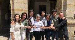 La alcaldesa de Durango, Ima Garrastatxu, junto a su equipo.
