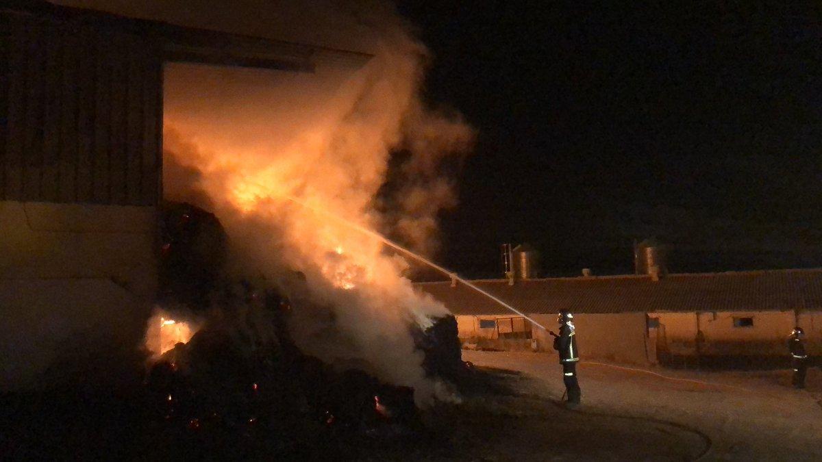 Incendio Villanueva de Perales