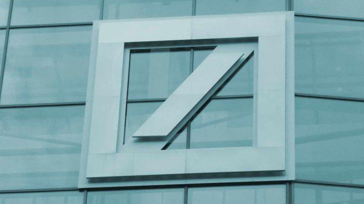 Logotipo del Deustche Bank.