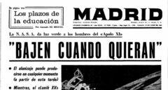 """""""Bajen cuando quieran"""": así se informó en España de la llegada a la Luna"""
