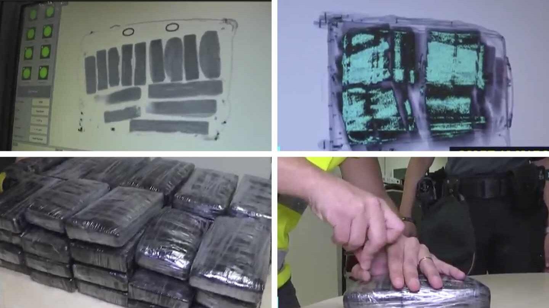 """La Guardia Civil detiene a un agente que dejaba pasar maletas con """"coca"""" en Barajas"""