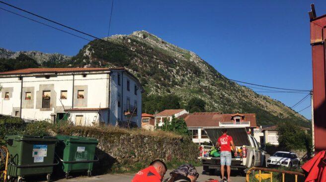 Rescate de espeleólogas en Cantabria.