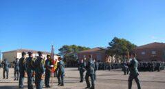 Jura de bandera en la Academia de la Guardia Civil en Baeza.