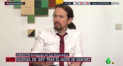 Pablo Iglesias, en La Sexta.