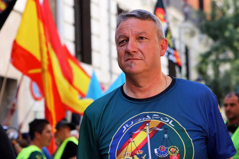 José María García, secretario general del sindicato Jupol