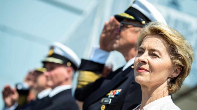 Ursula von der Leyen, en su etapa como ministra de Defensa de Alemania.