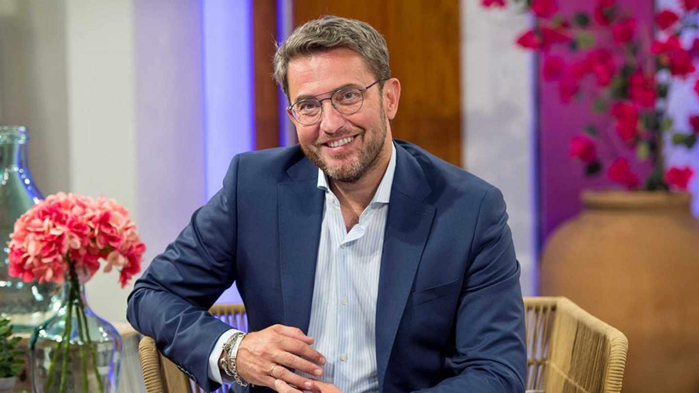 Màxim Huerta en su regreso a la televisión de la mano del programa 'A partir de hoy' de TVE.