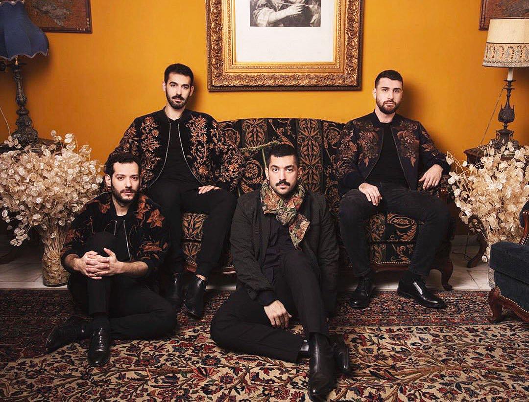 El grupo Mashrou' Leila en una imagen de su cuenta de Twitter