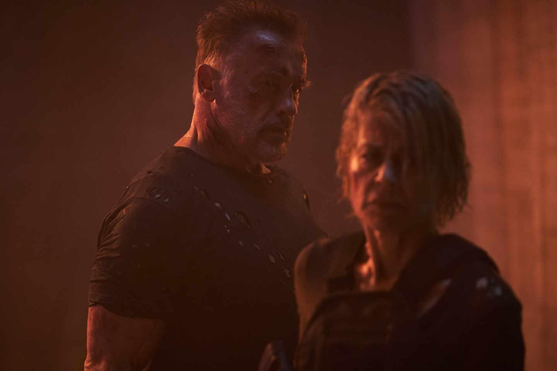 Sarah Connor y T-800 en Terminator