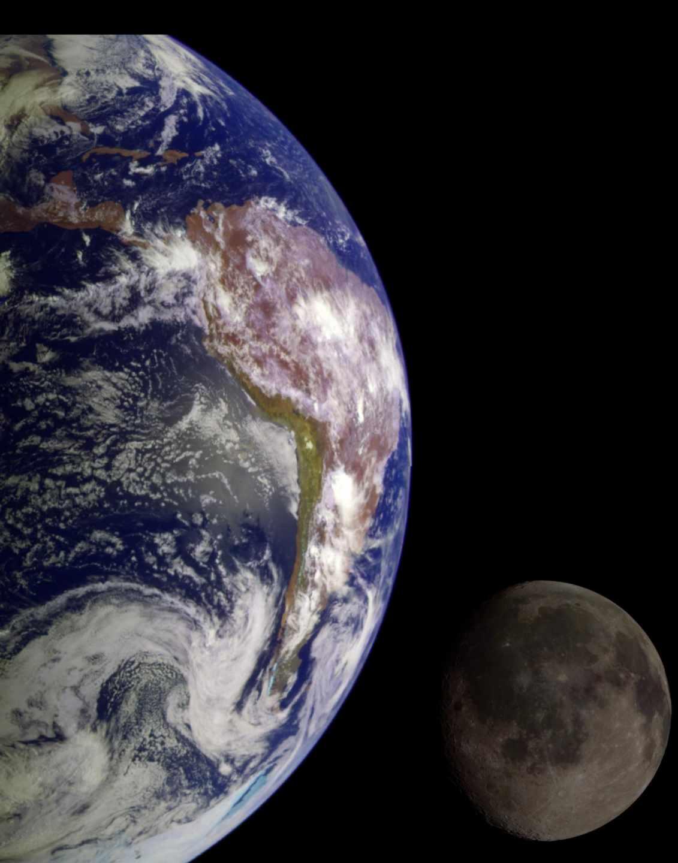 Fotomontaje de la NASA con unas imágenes tomadas desde la nave Galilelo en 1998 | NASA
