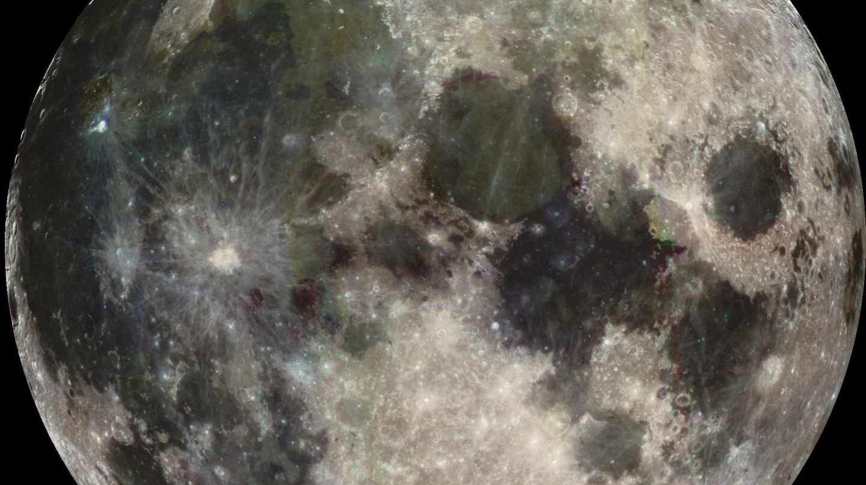 La Luna fotografiada por la nave Galileo en su camino a Júpiter en 1998 | NASA