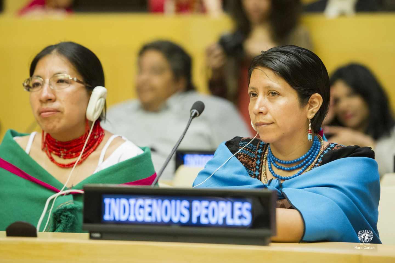 Los pueblos indígenas contra el cambio climático