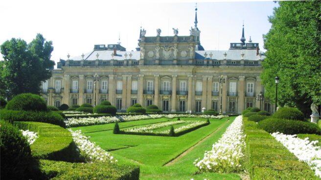 Palacio de La Granja de San Ildefonso.