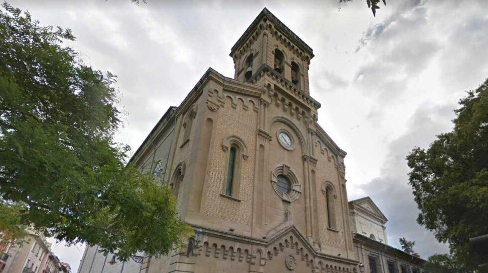 Parroquia San Lorenzo, en Pamplona.