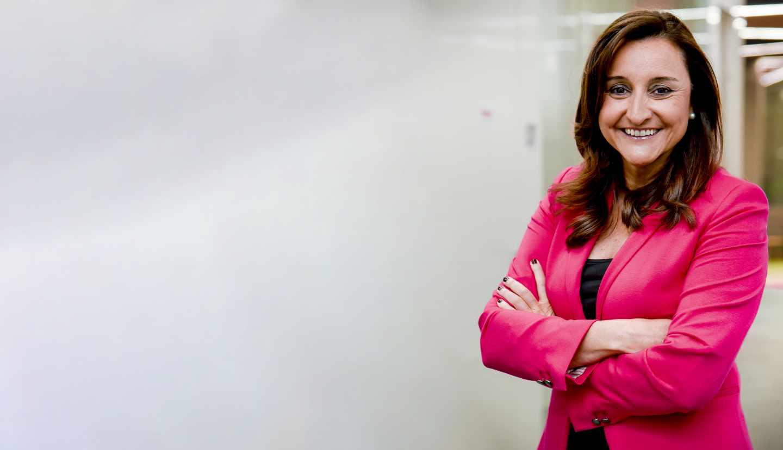 Remedios Orrantia, presidenta de la Fundación Vodafone.